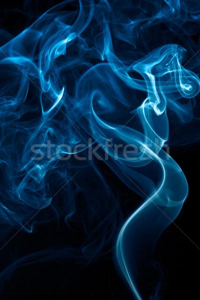 Fumar isolado branco abstrato movimento Foto stock © dmitry_rukhlenko