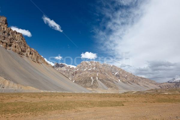 долины Гималаи пейзаж путешествия гор индийской Сток-фото © dmitry_rukhlenko