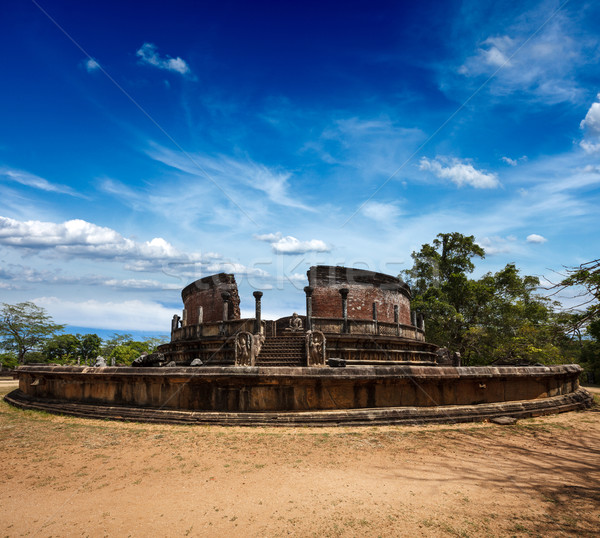 Ancient Vatadage (Buddhist stupa) Stock photo © dmitry_rukhlenko