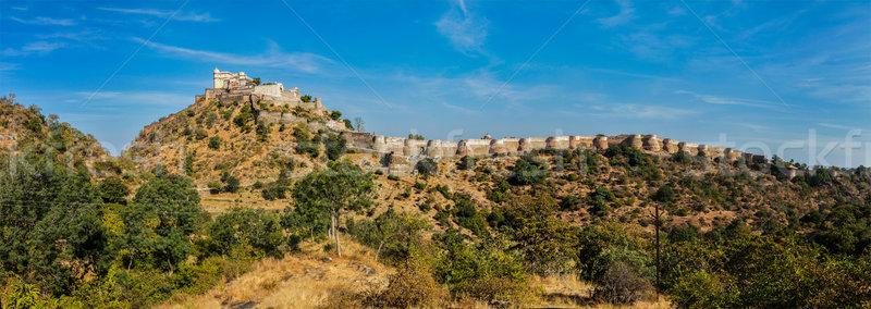 Panoráma erőd India utazás panorámakép ősi Stock fotó © dmitry_rukhlenko