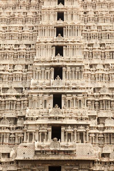 asian girl indien tempel