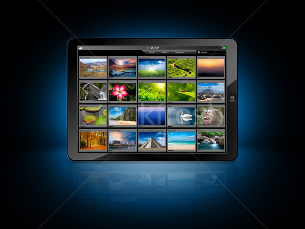 Tablet PC Stock photo © dmitry_rukhlenko
