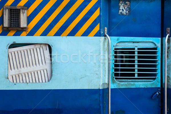 Indian pociągu drugi klasy trenerem Indie Zdjęcia stock © dmitry_rukhlenko