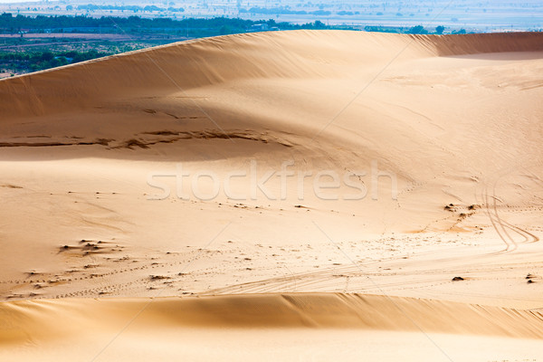 White sand dunes, Mui Ne, Vietnam Stock photo © dmitry_rukhlenko