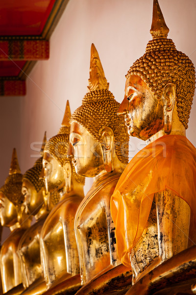Sessão buda Tailândia templo Bangkok Foto stock © dmitry_rukhlenko