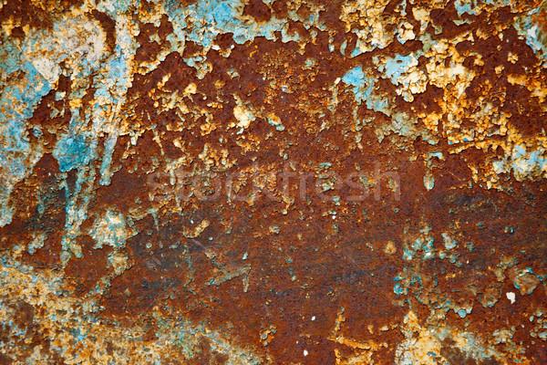 Grunge arrugginito metal texture texture sfondo metal Foto d'archivio © dmitry_rukhlenko