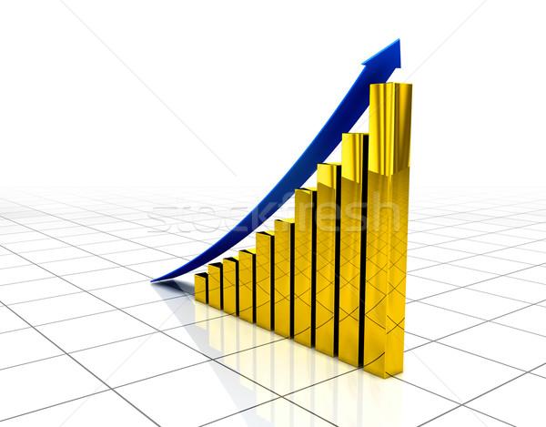 Comercial crescimento gráfico projeto financiar sucesso Foto stock © dmitry_rukhlenko