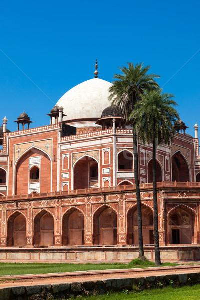 Foto stock: Túmulo · Délhi · Índia · pedra · arquitetura · indiano