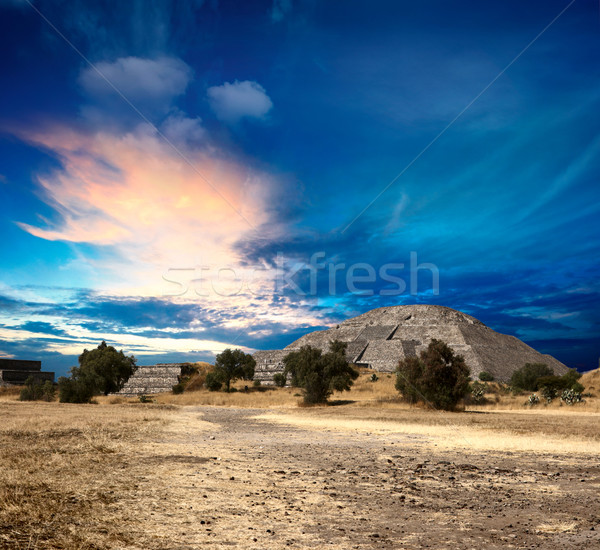 Teotihuacan Pyramids Stock photo © dmitry_rukhlenko