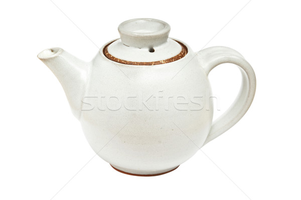 Chinese tea pot isolated Stock photo © dmitry_rukhlenko