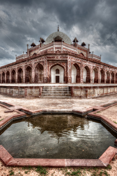 Tombe Delhi Inde hdr image bâtiment Photo stock © dmitry_rukhlenko