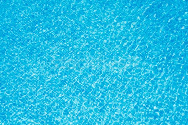Tiszta víz medence tiszta kék víz textúra Stock fotó © dmitry_rukhlenko