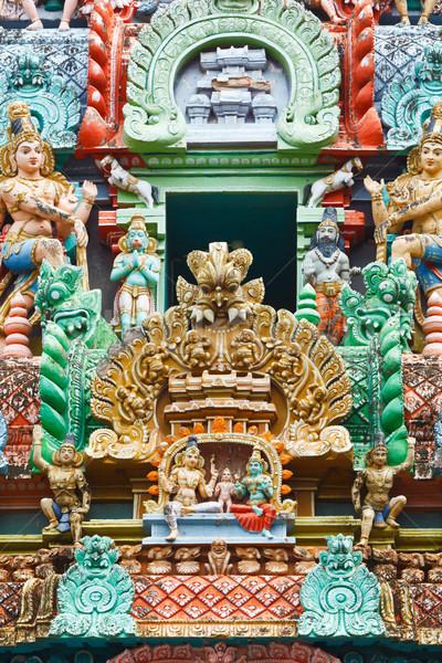 Templo torre pedra deus asiático escultura Foto stock © dmitry_rukhlenko