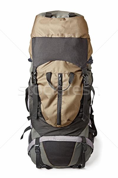 Trekking backpack isolated Stock photo © dmitry_rukhlenko