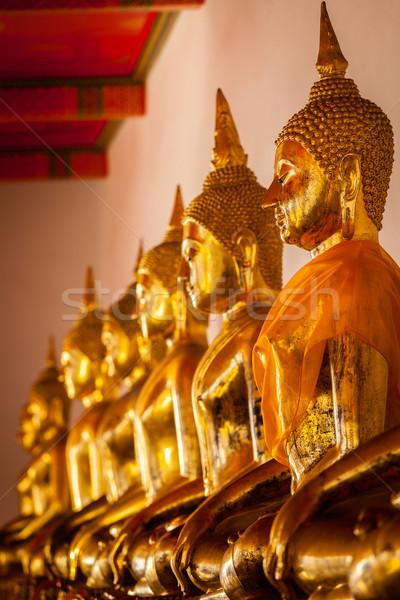 Sesión Buda Tailandia templo Foto stock © dmitry_rukhlenko