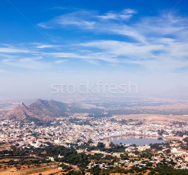 Szent város India légifelvétel templom természet Stock fotó © dmitry_rukhlenko