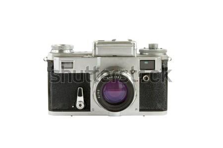 Old rangefinder camera isolated Stock photo © dmitry_rukhlenko