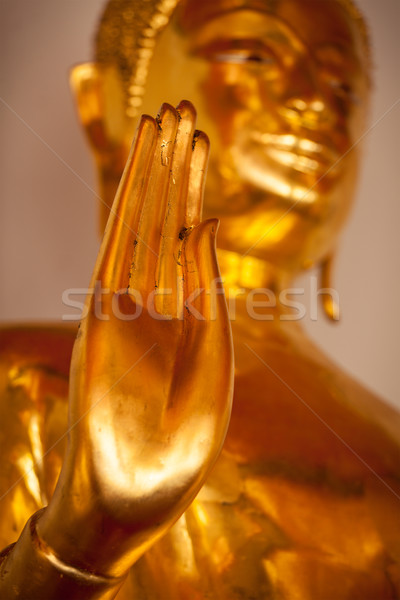 Buddha statue hand,  Thailand Stock photo © dmitry_rukhlenko
