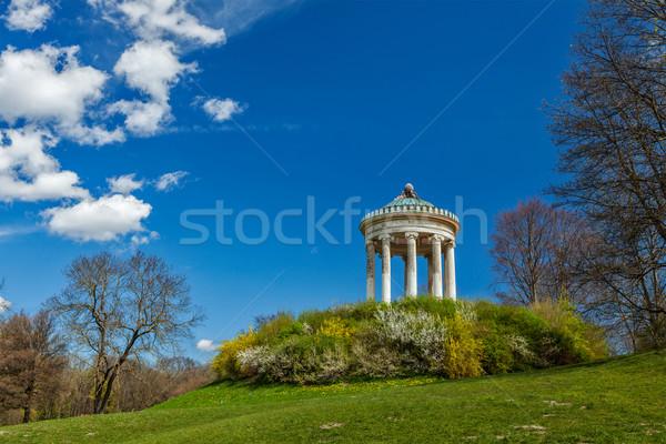Munique Alemanha grego estilo templo casa Foto stock © dmitry_rukhlenko