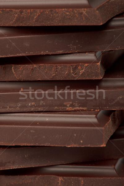 Pure chocola snoep donkere geïsoleerd Stockfoto © dmitry_rukhlenko