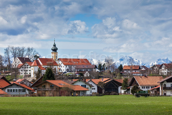 German countryside and village Stock photo © dmitry_rukhlenko