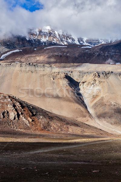 Himalayas bergen landschap la hemel Stockfoto © dmitry_rukhlenko