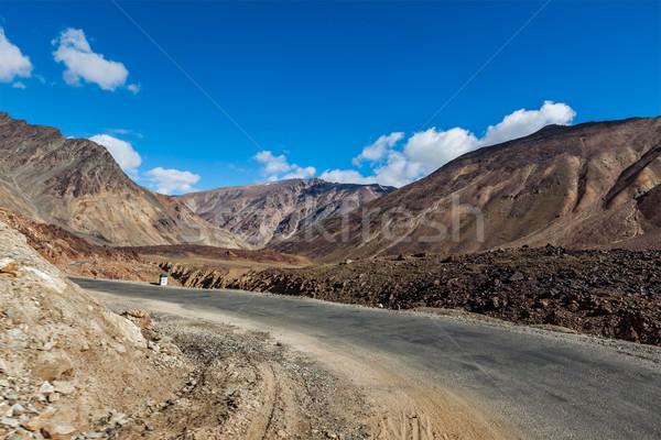 út indiai Himalája passz tájkép hegy Stock fotó © dmitry_rukhlenko