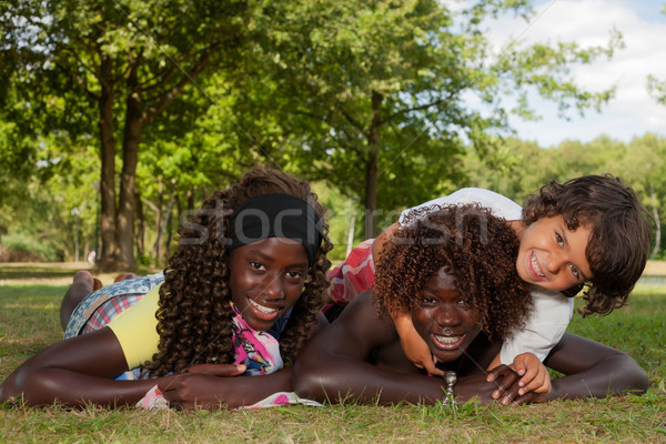 Multi ethnic children Stock photo © DNF-Style