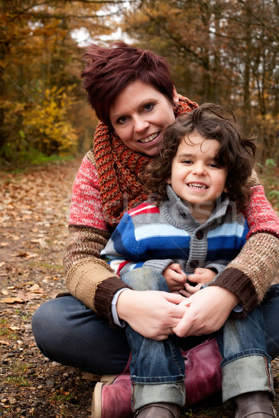 Mothe and her son Stock photo © DNF-Style