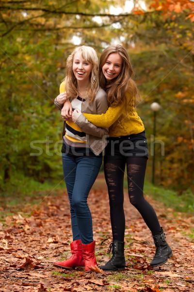 happy teenagers Stock photo © DNF-Style