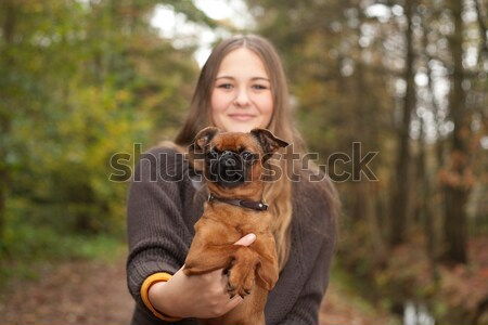 Hierher Hund jungen nice Zeit Stock foto © DNF-Style