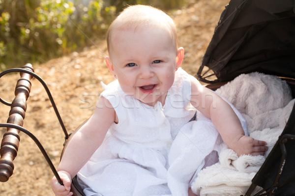 Stock photo: Happy baby