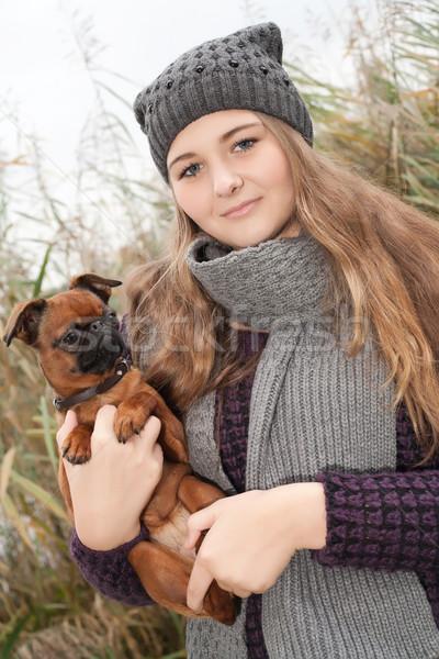 Winter girl Stock photo © DNF-Style