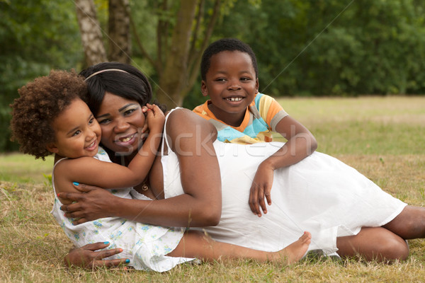 Mom and her dearest children Stock photo © DNF-Style