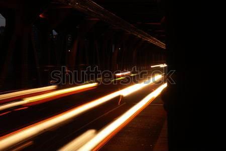 Traffic on a bridge Stock photo © dnsphotography