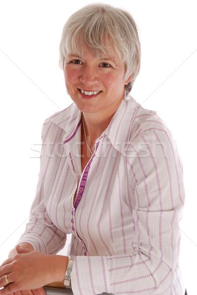 Senior Business Woman Stock photo © dnsphotography