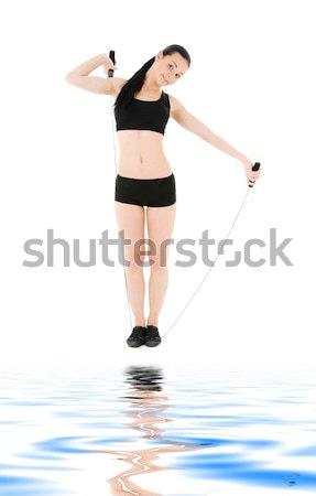 Resim seksi kadın su çıplak Stok fotoğraf © dolgachov