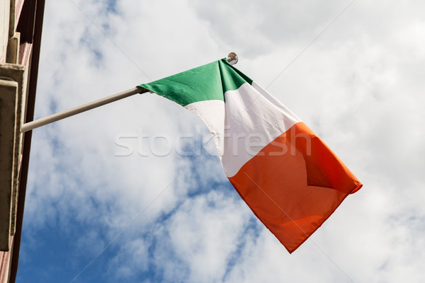 close up of irish flag Stock photo © dolgachov