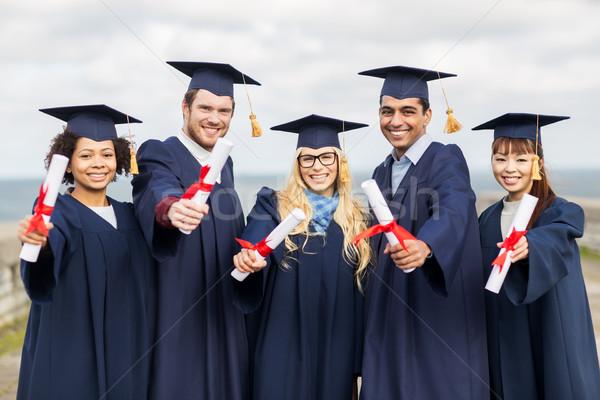 幸せ 学生 教育 卒業 人 グループ ストックフォト © dolgachov