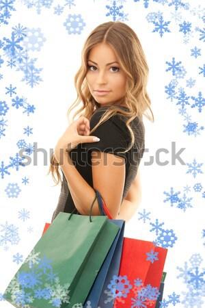 торговых девушки моде Сток-фото © dolgachov
