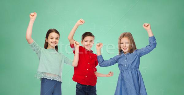 Ninas victoria infancia educación Foto stock © dolgachov
