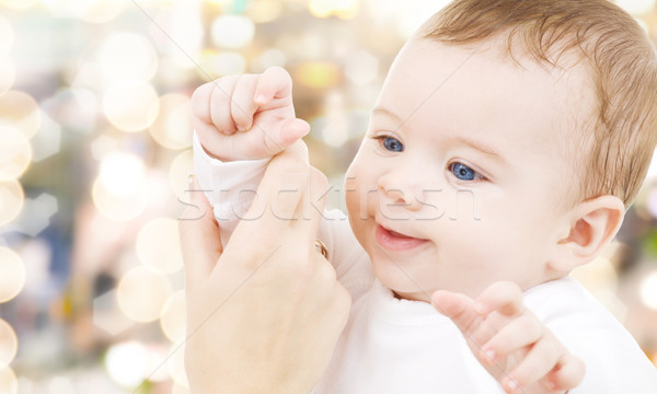 Photo stock: Adorable · bébé · garçon · enfant · bonheur · personnes