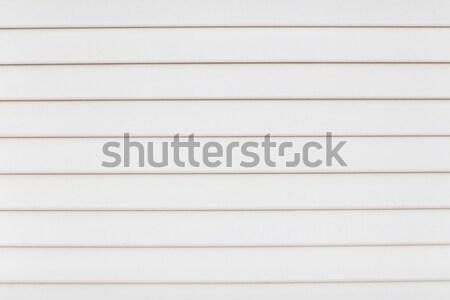 Gestreift weiß Panel Oberfläche Textur Bau Stock foto © dolgachov