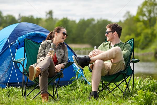 Время секса парочка в палатке член пожилой женщины