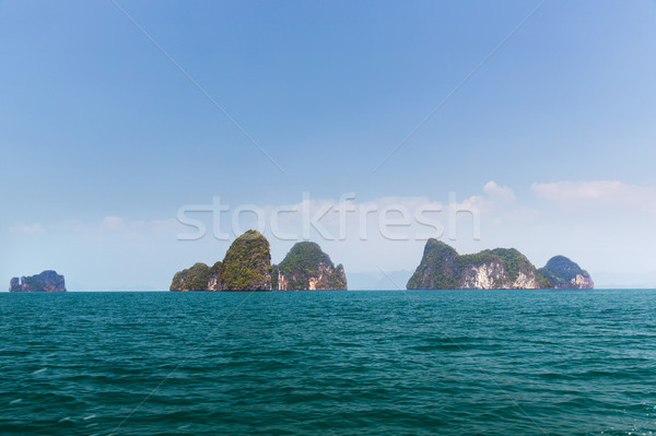 Krabi ada okyanus su Tayland Stok fotoğraf © dolgachov