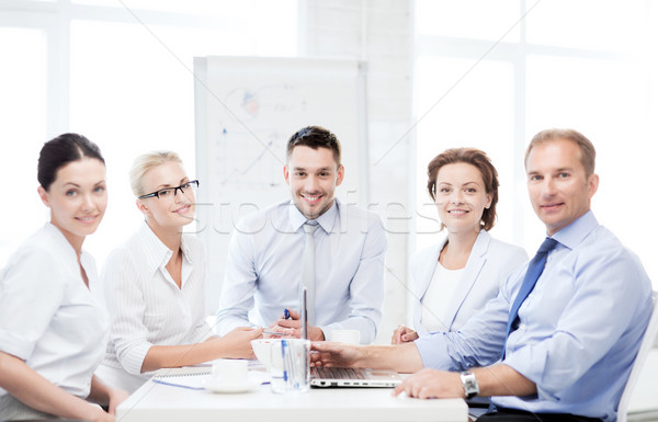 business team having meeting in office Stock photo © dolgachov