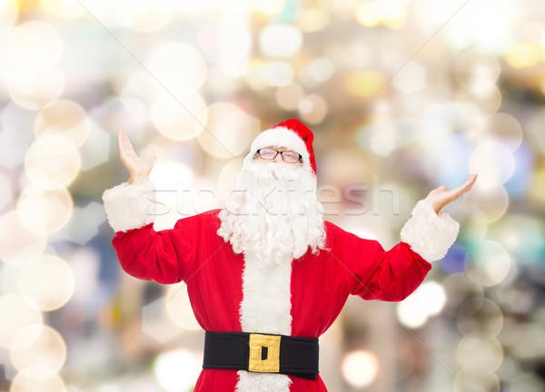 男 衣装 サンタクロース クリスマス 休日 人 ストックフォト © dolgachov