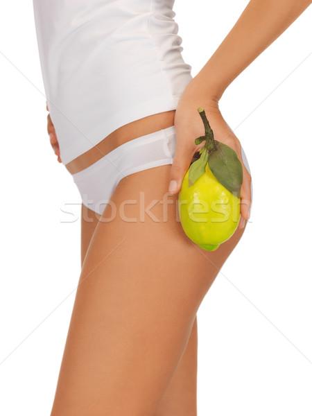 slimming concept Stock photo © dolgachov