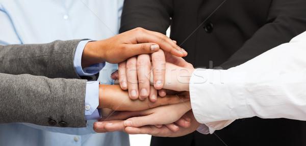 Grupo victoria negocios ganar Foto stock © dolgachov