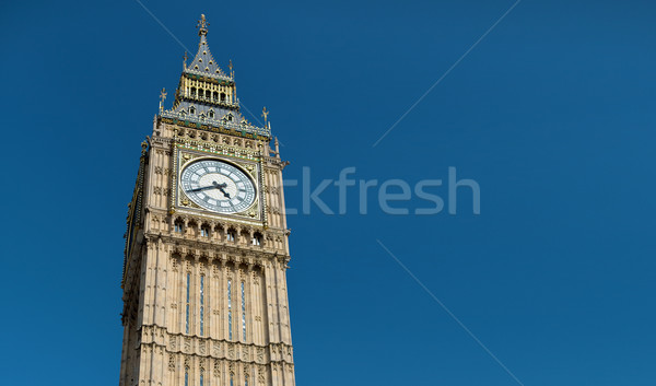ビッグベン クロック 塔 ロンドン イングランド ストックフォト © dolgachov